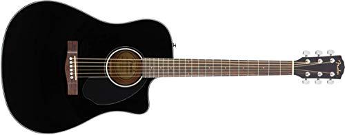 Fender, Gitarre CD-60SCE Schwarz