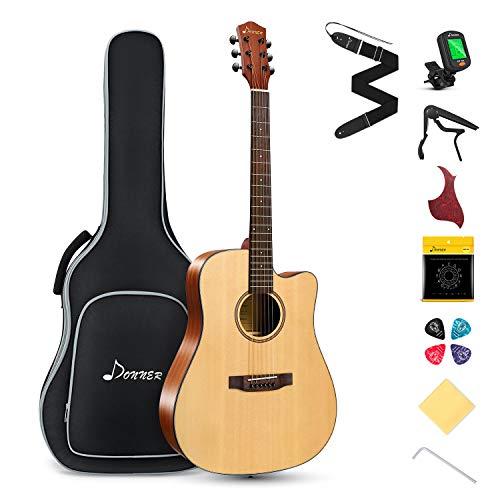 Donner Akustik Gitarre 4/4 in...