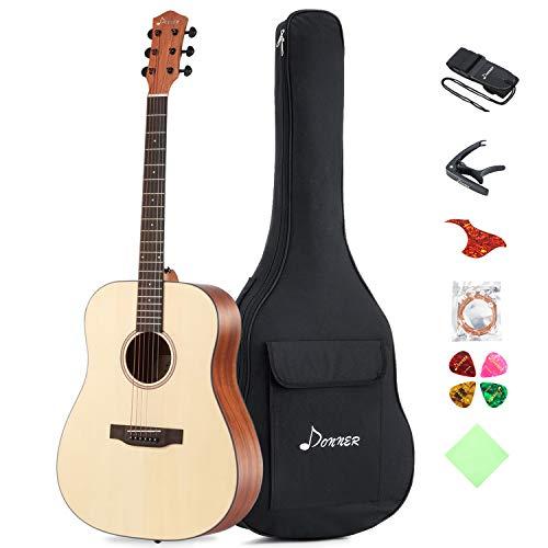 Donner Akustik Gitarre Starter Set...