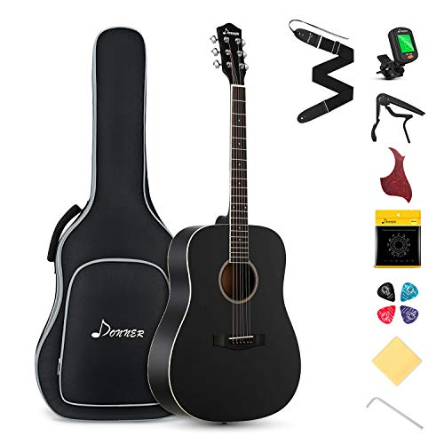 Donner Gitarre Akustik Anfänger in...