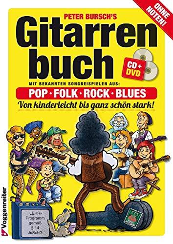Gitarrenbuch, m. CD-Audio, Bd.1,...