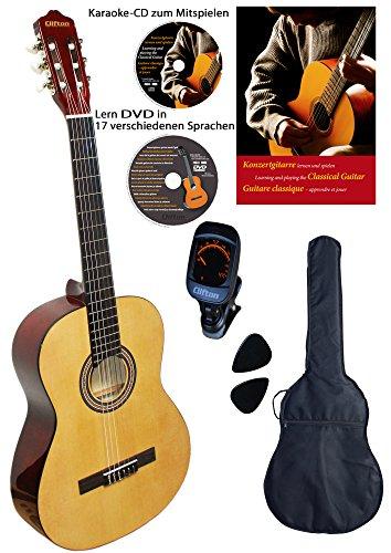 Clifton 4/4 Konzert-Gitarre Natur,...