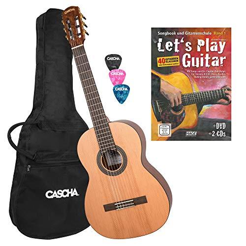 CASCHA 4/4 Konzert-Gitarre...