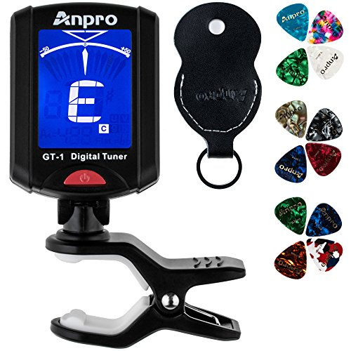 Anpro JT-10 Clip-On Digital Tuner...