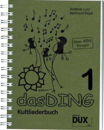 Das Ding Kultliederbuch im...