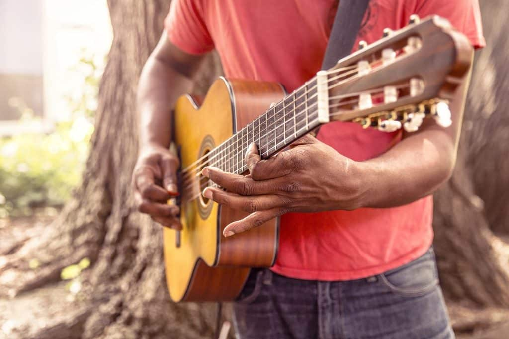 gitarre anfang