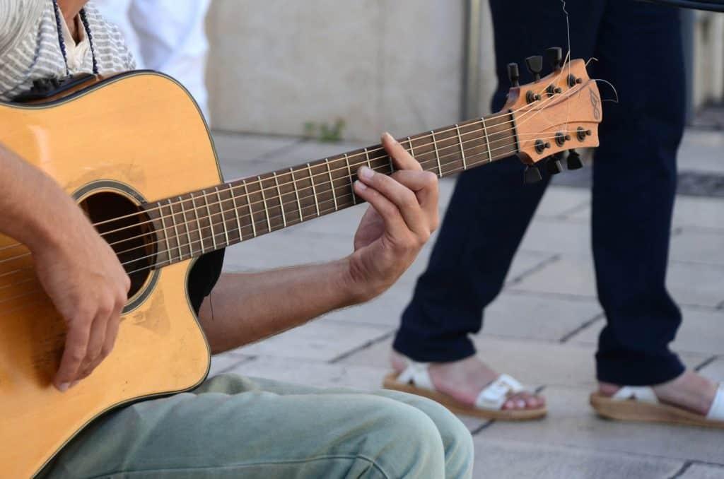 Gitarre Holz