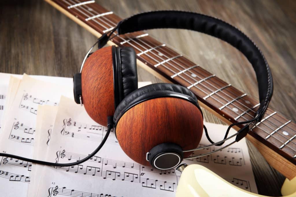Lieder mit Kopfhörer